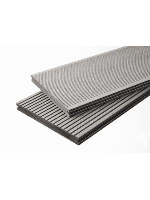 Breitdiele Volldiele XL hellgrau -beidseitig- 20 x 200 mm