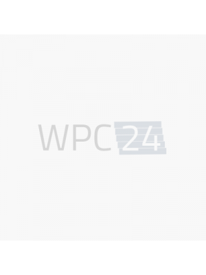 WPC Massivdiele hellgrau / beidseitig-5,00m