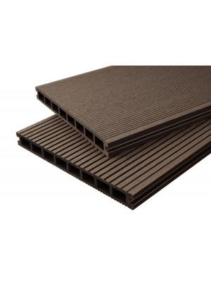 Handmuster Breitdiele Premium XL dunkelbraun -beidseitig-