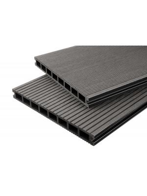 Handmuster Breitdiele Premium XL dunkelgrau -beidseitig-