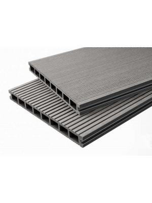 Breitdiele Premium XL hellgrau -beidseitig- 25 x 250mm