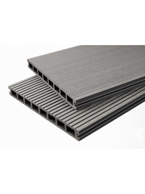 Handmuster Breitdiele Premium XL hellgrau -beidseitig-