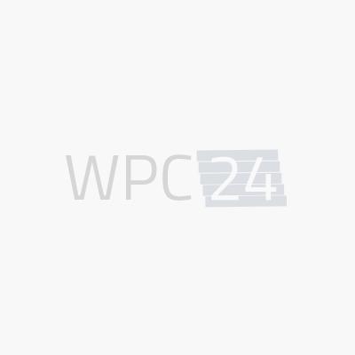 Volldiele hellgrau -beidseitig- 20x140mm