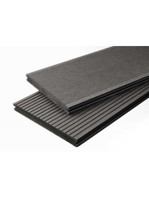 Breitdiele Volldiele XL dunkelgrau -beidseitig- 20 x 200 mm