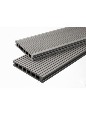 Premium Diele hellgrau -beidseitig- 23x146mm